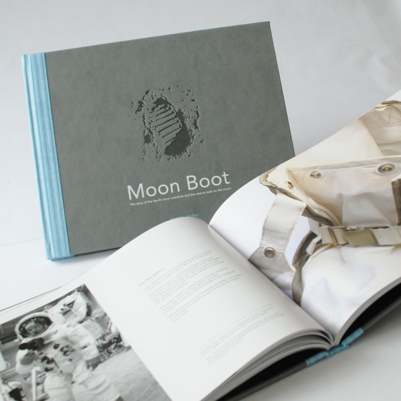 MOON BOOT the story of the Apollo lunar overshoe Moon